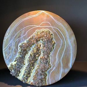 Abstract Geode Original Art